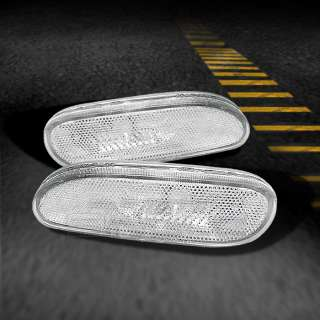 95 99 ECLIPSE CLEAR SIDE MARKER BUMPER LIGHTS LAMPS