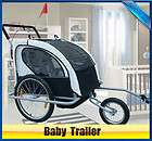 KIDS BIKE TRAILER STROLLER COMBO BABY CHILDREN TODDLER BICYCLE (Bike