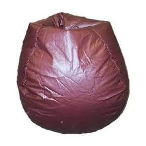 Muted Burgundy Bean Bag Chair