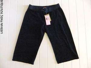 NWT JUICY COUTURE TERRY GIRLS DRAWSTRING PANTS 14 PANT