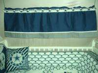 Baby Nursery Crib Bedding Set w/Dallas Cowboys fabric