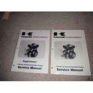 Engine Service Manual & supplement kawasaki heavy industries Books
