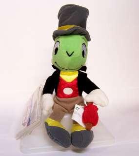 Pinocchio Mini Jiminy Cricket + Umbrella Doll Plush Bean Bag 8 NEW
