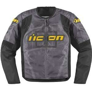 Icon Overlord Type 1 Mens Textile Street Racing Motorcycle Jacket