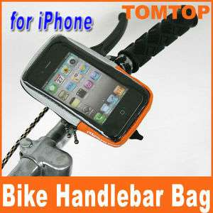 Cycling Bicycle Bike Handlebar Bag Pouch Case for iPhone HTC Mobile