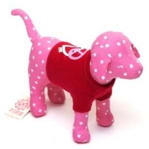Victorias Secret Pink Dog with Red T Shirt Collectible