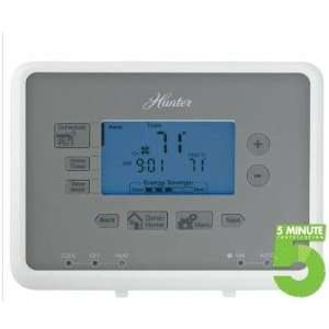 New   H Univ. Programm. Thermostat by Hunter Fan Company: