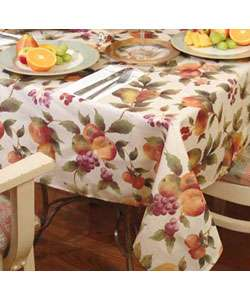 Fruit Design Kitchen Tablecloth  Overstock