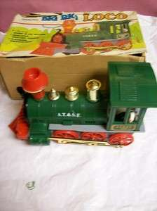 Vintage Big Red Loco/Locomotive Toy Train Battery Operated