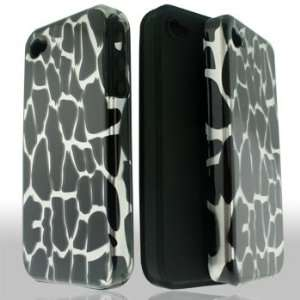 Apple iPhone 4G 4 G / 4S 4 S White Giraffe Animal Spots