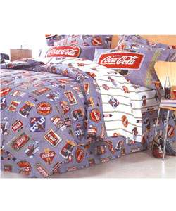 Coca Cola Bed in a Bag  Overstock