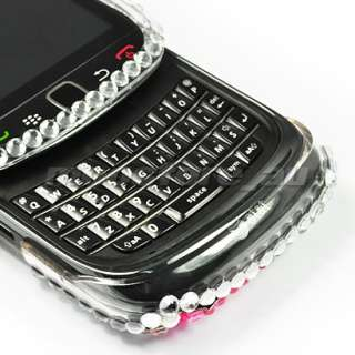 BLING RHINESTONE CASE COVER BLACKBERRY TORCH 9800 /15