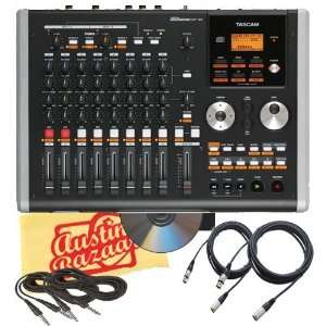 Tascam DP 02 Digital Portastudio Bundle with Tascam CSDP