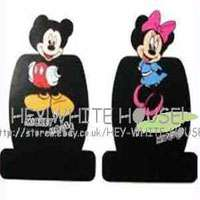 Disney Mickey Mouse Car Cushion Seat Cover,10pcs,black