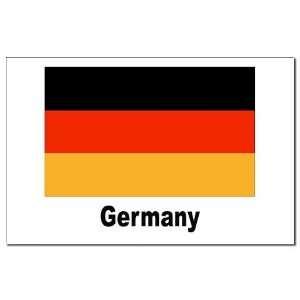 Germany German Flag German Mini Poster Print by