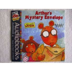 Wendys Kids Meal Arthurs Mystey Envelope CD Audiobook
