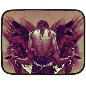 Lil Wayne rapper fuzzy Mini Fleece Blanket