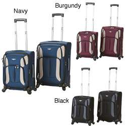 Rockland 2 piece Carry on Spinner Upright Luggage Set
