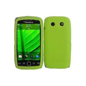 BlackBerry Torch 9850 Silicone Skin Case   Neon Green