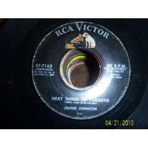 Next Thing to Paradise/My Jimmie Jeanie Johnson Music