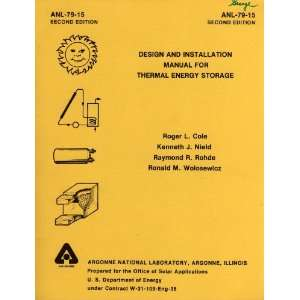 Design and Installation Manual for Thermal Energy Storage