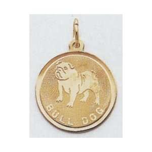 Bull Dog Charm  XAC363 Jewelry