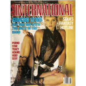 CLUB INTERNATIONAL AUGUST 1987 GINGER LYNN: CLUB INTERNATIONAL