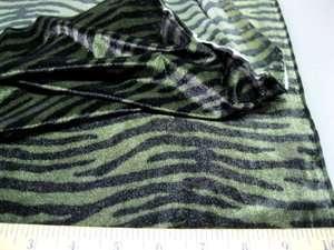 Fabric Stretch Big Cat stripes Spandex/Lycra #LY1B