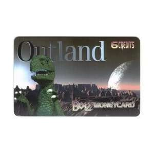 Collectible Phone Card 6 Credits Borz Moneycard Superstore Outland