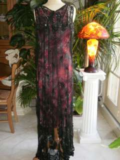 SUMPTUOUS 1912 FRENCH JET BEADED EVENING DRESS