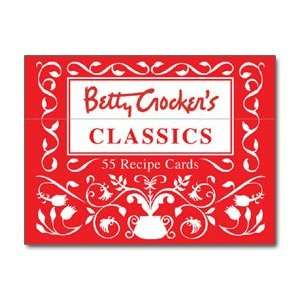 Betty Crockers Classics  55 Recipe Cards Home & Kitchen