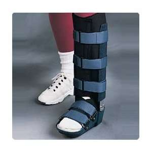 Low Profile Walker Fixed Ankle, Size Small, Female 5 8 1/2, Male 4