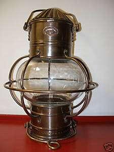 Decorative Maritime Solid Brass Globe Lantern Oil Lamp |
