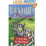 Boundaries in Marriage by Henry Cloud and John Townsend (Aug 1, 2002)