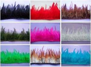 yards ribbon trim Hackle feathers fringe optional Hot