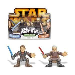 Star Wars Galactic Heroes   Anakin Skywalker and Count Dooku