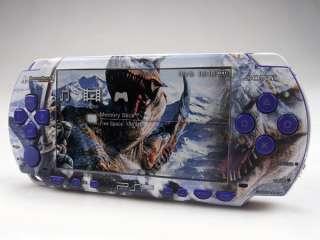 New For Fat PSP 1000 Vinyl Sticker/Skin Monster Hunter2