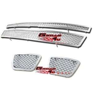 07 12 2011 2012 Tahoe/Suburban/Avalanche Mesh Grille Grill