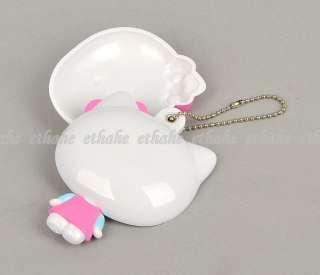 Hello Kitty Portable Cosmetic Compact Mirror E1GKDT
