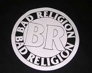 Vintage Bad Religion Band T Shirt