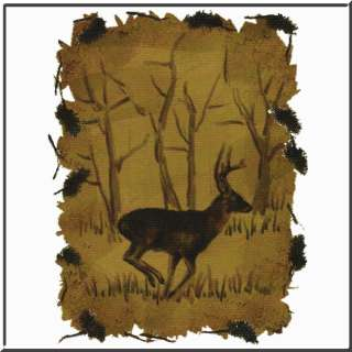 Whitetail Deer Buck Native Sketch T Shirt S 2X,3X,4X,5X