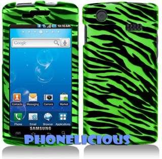 Fit SAMSUNG CAPTIVATE Galaxy S Cover Case GREEN ZEBRA