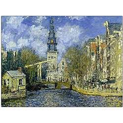 Claude Monet The Zuiderkerk at Amsterdam Art