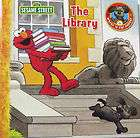 NEW SESAME STREET ELMO THE LIBRARY BOOK