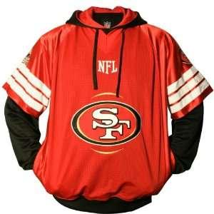 NFL San Francisco 49ers Big & Tall Gridiron Pullover