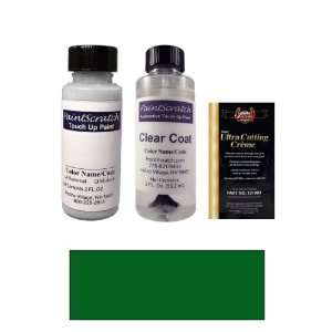 com 2 Oz. Dark Green Pearl Metallic Paint Bottle Kit for 1998 Toyota