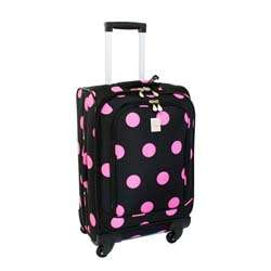 Pink Dots 360 Quattro 21 inch Carry On Spinner Upright