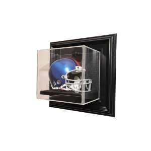 St. Louis Rams Mini Helmet Wall Mount Display Case with Black Finish