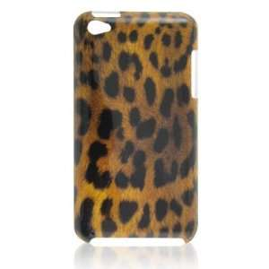 Gino Brown Black Leopard Print Hard IMD Back Case Cover