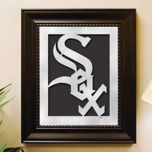 Chicago White Sox MLB Laser Cut Logo Wall Art (13.25 x 11